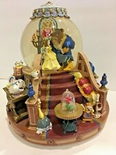 Disney Beauty and the Beast musical snowglobe Enchanted Love