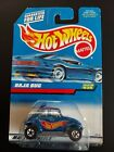 Hot Wheels - 1998 Baja Bug - Collector #835 - Blue Car With White Interior