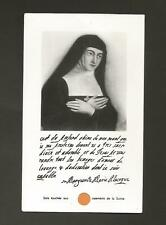 Relic Holy Card ** St. Marguerite Marie Alacoque **