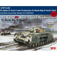 Ryefield RM5033 1/35 Pz.Kpfw.IV Ausf.J Late Production 2in1 Assembly Model Kits