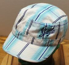 VERY NICE WOMENS SEATTLE CADET/MILITARY STYLE HAT ADJUSTABLE BLUE/WHITE VGC