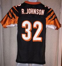 Rudi Johnson Cincinnati Bengals jersey size YOUTH Medium by Reebok