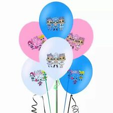 LOL SURPRISE DOLL BALLOONS x6 BIRTHDAY PARTY LOLLY BAG BALLOON L.O.L SURPRISE!