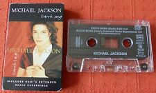 MICHAEL JACKSON - UK CASSETTE TAPE SINGLE - EARTH SONG