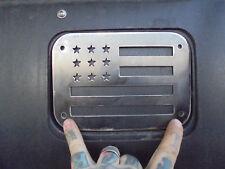 84 TO 01 CHEROKEE GAS TANK LID SKID ARMOR COVER XJ CHEROKEE JEEP 4X4 ARMOR FLAG