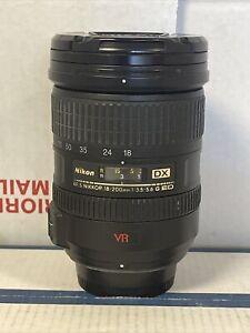 Nikon NIKKOR AF-S 18-200mm F/3.5-5.6G ED VR Lens With Hoya 72mm UV
