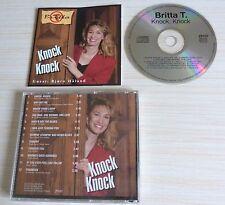 RARE CD ALBUM KNOCK KNOCK BRITTA T 12 TITRES COUNTRY