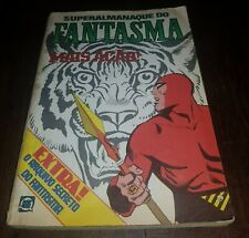 THE PHANTOM  rare BRAZIL comic book  FANTASMA #3 rare Portuguese 1981