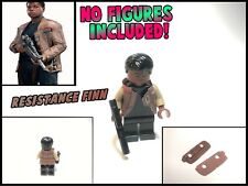 LEGO Star Wars Minifigure Lot Finn Poe Dameron TFA TLJ Custom Cape Jacket Cloth