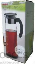 New Hario Cold Brew Tea Pot with Handle 1000ml Dark Green ( MDH-10DG) King Glass