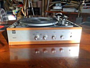 DUAL 1210 Type HS 14  Kofferschallplattenspieler, Verstärker ohne Lautsprecher