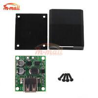 5V 2A Solar Power Bank Panel USB Charge Voltage Controller Regulator Black Shell