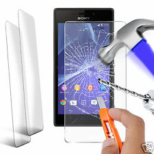 Twin Pack - Genuine Tempered Glass Screen Protector for Sony Xperia M2