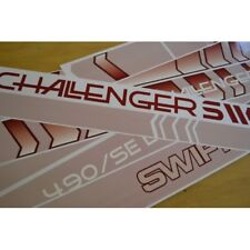 SWIFT Challenger (1990's) Caravan Stickers Decals Graphics - SET OF