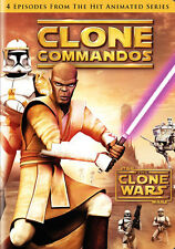 Star Wars The Clone Wars Clone Commandos DVD English French Portuguese Spanish