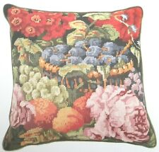 *******CHART ONLY**RARE Vintage Needlepoint Tapestry Cushion **** CHART ONLY****