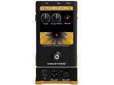 Tc-helicon tono de voz T1 & Dynamics EQ procesador pedal para vocales efecto