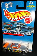 Hot Wheels 2000 #038 Speed Blaster Series #2 of 4 At-A-Tude Silver Orange 5SPs