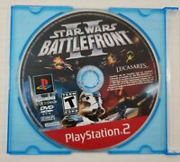 Star Wars Battlefront II (Sony Playstation 2, PS2) - DISC ONLY - Tested