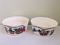 Vintage Disneyland Train Plastic Bowls Bowls by  DEKA  Mickey Mouse
