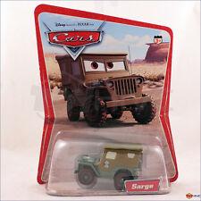 Disney Pixar Cars Sarge Army Jeep original desert scene 2005 12 back 12C A29 1L