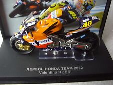 VALENTINO Rossi IXO SCALA 1/24th HONDA RC211V 2002 MOTO GP Modello