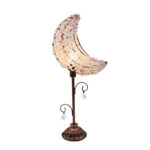PAS Table Lamp Desk Light Banana Shape Tiffany Style Decorative Fixture 110-220V