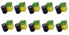 Set of 10 Engine Oil Filters Spin On Mann W940/25 For A4 Audi 4000 VW Golf Jetta