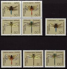 Germany 1991 Insects - Dragonflies SG 2397-2404 MNH