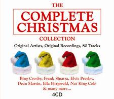 The Complete Christmas 4 CD Original Xmas Songs & Music