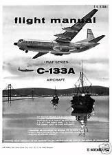 DOUGLAS C-133A CARGOMASTER - TO 1C-133A-1