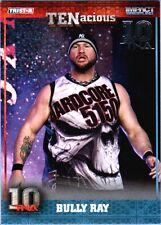 TNA Bully Ray #15 2012 TENacious SILVER Parallel Card SN 3 of 30