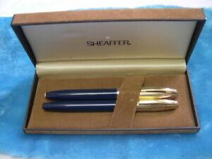sheaffer  pfm pens blue set