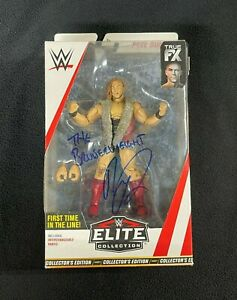 Pete Dunne Signed & Inscribed WWE Elite 1st Time In Line Target Action Figure