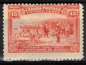 CANADA Scott 102 Mint Hinged ## 1 cent start ##