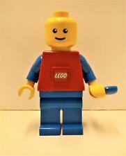 """Lego Man Flashlight Dynamo Torch Hand Crank - 7.5"""""""