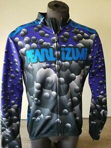 Men's PEARL IZUMI Long Sleeve Thermal CYCLING Jersey Shirt Large