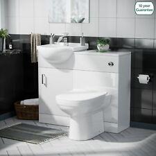 Basin Vanity Sink Toilet Pan and seat Unit WC Set | Debra