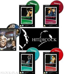 DVD > ALFRED HITCHCOCK COLLECTION > UK Freepost  (SIPA)