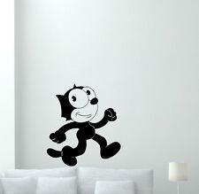 Felix The Cat Wall Decal Cartoon Vinyl Sticker Nursery Decor Kids Mural 61hor