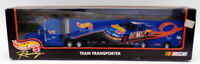 Hot Wheels 1/64 Scale 25353 - Nascar Truck Transporter - Richard Petty