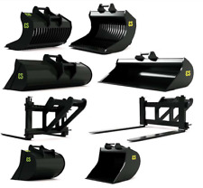 AT COLLECTIONS 1:32 SCALE EUROSTEEL EXCAVATOR ATTACHMENT SET