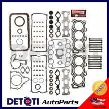 Full Head Gasket Set Bolts Kit For 98-04 Isuzu Honda Acura 3.2L 3.5L Multi layer