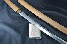Japanese Samurai real sword Katana authentic handmade sharp steel blade Sukehiro