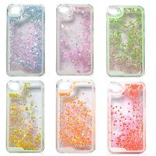 Liquid Cœurs Paillettes Mouvant étui coque iPhone 4 4s 5 5s 5c 6 Samsung S4 S5