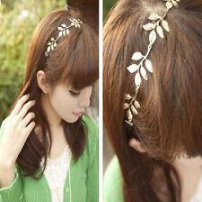 Elastic Metallic Hollow Rose Flower Fashion Retro Hair Band Headband Jewelry Hot