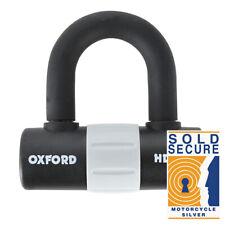 Oxford HD Max Lock Security Motorcycle Disc Lock Padlock Black LK310