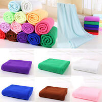 Large Microfibre Cotton Beach Bath Towel Sports Travel Camping Gym HY Sales