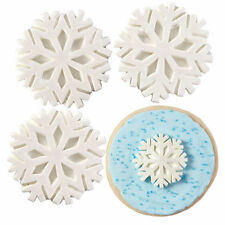 Snowflake with Sparkle Christmas Royal Icing Decorations from Wilton 3467 - NEW