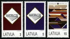Latvia 349-351, MNH. Natl. Song Festival, 1993